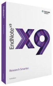 EndNote 9.3.3 Crack